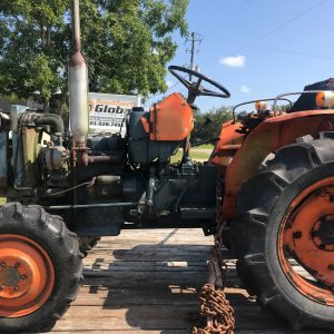 Salvage Tractor - Kubota L2201DT